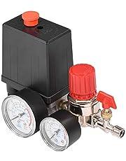 3 000 l/min 0,05-1,2 Mpa tryckströmbrytare för liten luftkompressor med säkerhetsventil och manometrar för tryckregulatorer