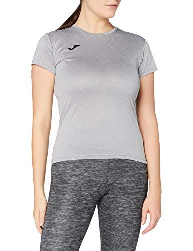 Joma Combi M/C Camiseta, Mujer, Gris-250
