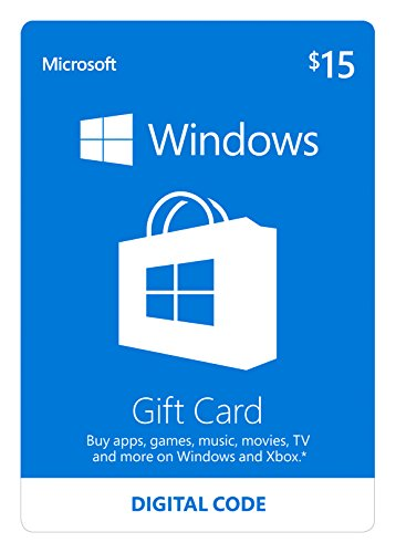 Microsoft Windows Store Gift Card - $60 Value [Online Code]