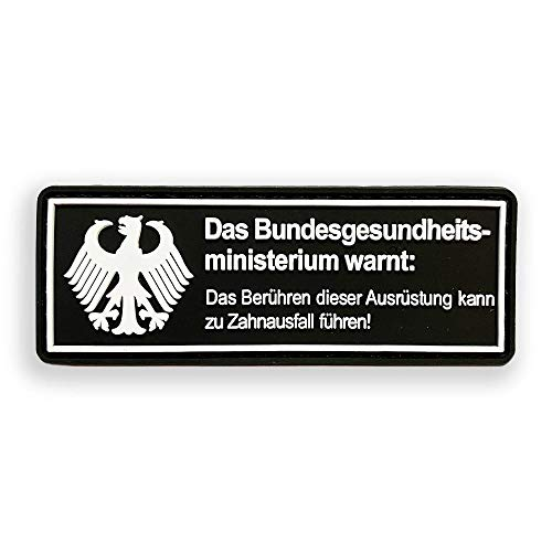 Zahnausfall Bundeswehr Fun Patch