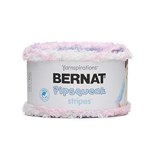 Bernat Pipsqueak Stripes Yarn- 280g-Cotton Candy
