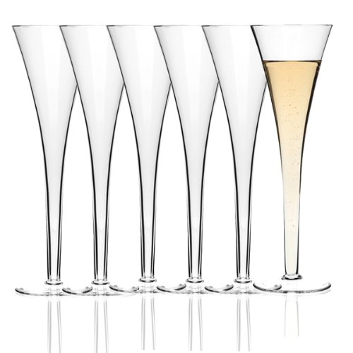 Leonardo - Juego de 6 copas de champán Nizza (en caja de regalo)