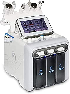 Hydrogen Oxygen Small Bubble Spa Machine 6 in 1 Multifunction Cleaner Skin dermabrasion Device Hydro Water Vacuum Beauty Facial Cleansing