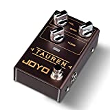 JOYO R-01 Tauren Overdrive Pedal From Clean Boost to Distortion Pedal Effect For Electric Guitar Low & High Gain Pedal True Bypass