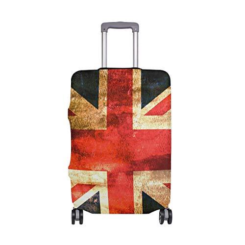 DEZIRO - Funda para Equipaje con diseño de Bandera de Inglaterra