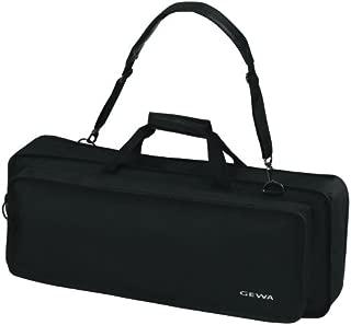 Gewa Keyboard Gig Bag Basic Music Sheet Pocket on Lid and Waterproof, 96x37x15 cm, Black