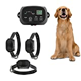 NXX Electric Fence Advanced-Latest All Weather Pet Containment System Electric Dog Fence and Pet Containment System In-Ground Or Above Ground Installation,one for Three