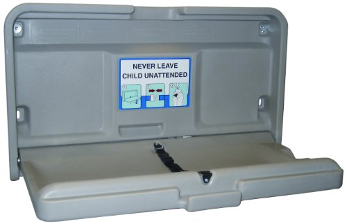 Impact 1170 Gray Baby-Changing Table, 36' Length x 20-1/2' Width x 4-1/2' Height
