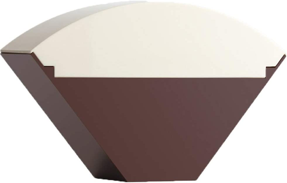 Aufbewahrung von Kaffeefilterhaltern aus Edelstahl Aufbewahrungsbeh/älter f/ür Kaffeefilter f/ür B/ürogeb/äude
