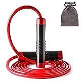 AUTUWT Gewicht springseil 1LB,Aluminium Griff & 9mm Dicke Seil - Ideal Für Fitness,...