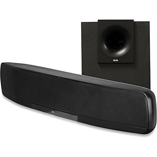 Bticino NV-P500-EU Soundbar con Subwoofer, 220 V, Nero