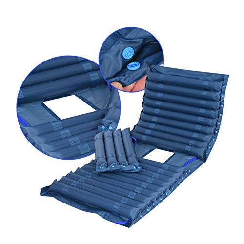 Mr.LQ Anti-Dekubitus-Kissen Anti-Dekubitus-Luftmatratze Aufblasbare Matratze Gehörlose Matratze für zu Hause,color1,200x90cm