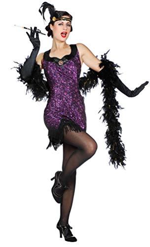 Karneval-Klamotten Charleston 20er Jahre Kleid hochwertig