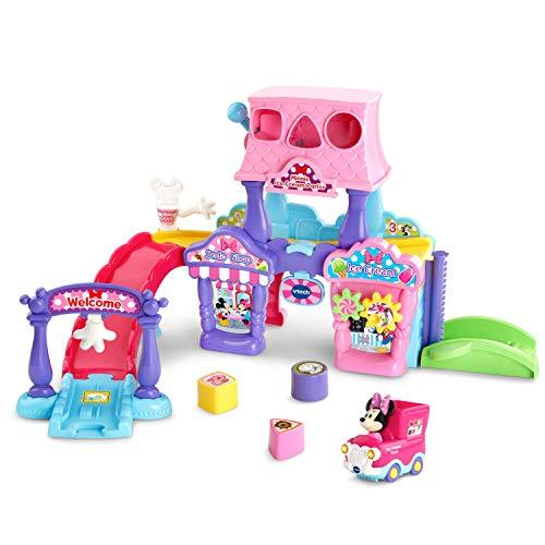 VTech Go! Go! Smart Wheels - Disney Minnie Mouse Ice Cream Parlor, Pink