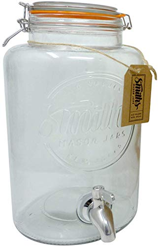 Smiths Mason Jars Dispensador de bebidas