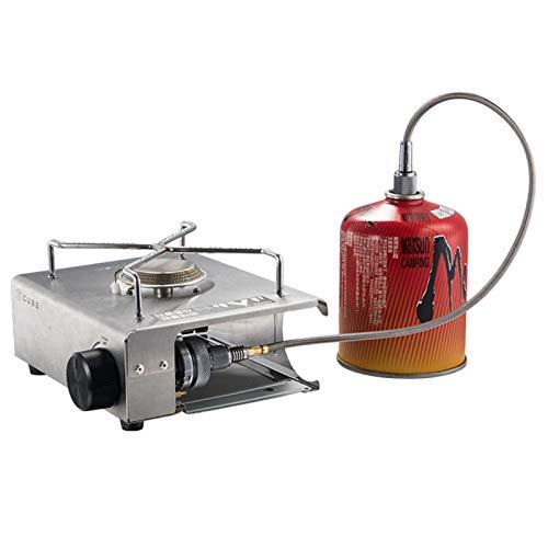 Minimei Brenngasleitung Das Gewindedesign ist für die Installation bequemer Kann den Kassettenofen an Hochgebirgsgas anschließen