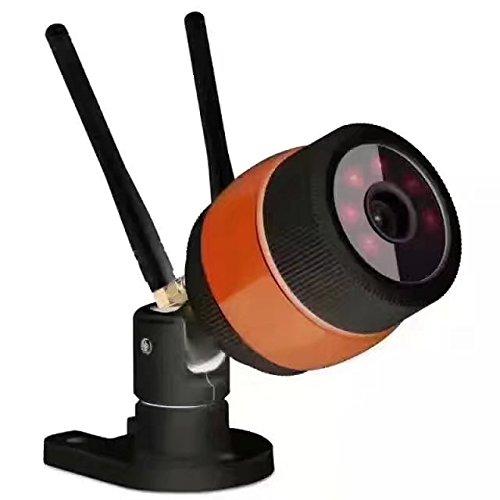 WeniChen Yoosee/YYP2P WLAN-Kamera, 720P WLAN, doppelte Antenne, drahtlose IP-Kamera, wetterfest, staubdicht, IR-Nachtsicht, Android- & iOS-Handy-Fernüberwachung