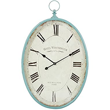 Aspire Wall Clock Sonia Oval, Blue
