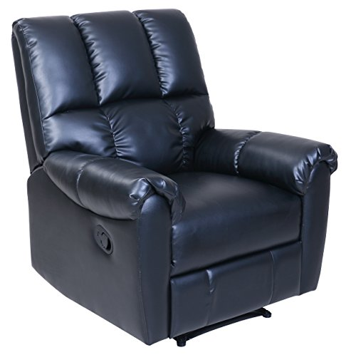 Barcalounger Restore and Relax Black Recliner
