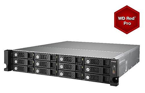 QNAP TS-1253U - NAS & storage servers (36000 GB, HDD, HDD, SSD, Intel Celeron, 2 GHz, 4 GB)