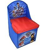 ELI Paw Patrol Sitzhocker Stuhl Klappstuhl Kinderstuhl Spielzeugkiste Sessel blau