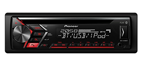 Pioneer DEH-S4000BT | 1DIN autoradio | CD-tuner met RDS | Bluetooth | MP3 | USB | AUX-ingang | Bluetooth handsfree installatie | ARC | karaoke mixing | Spotify