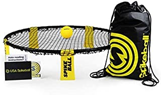 Spikeball Game Set – Played Outdoors, Indoors, Lawn, Yard, Beach, Tailgate, Park..