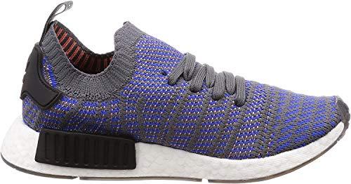 adidas Herren NMD_R1 STLT Primeknit Sneaker, Blau (Hi-Res Blue 0), 44 2/3 EU