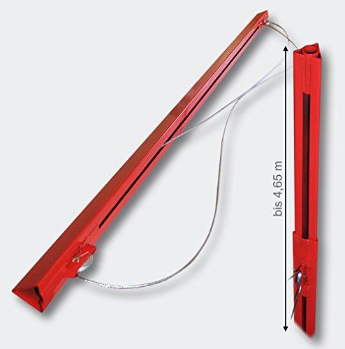 Verlängerung 140 cm für XXL Plattenheber Montagehilfe für Rigipsplatten