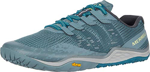 Merrell Men's Trail Glove 5 Running Shoe, Metallic, 13