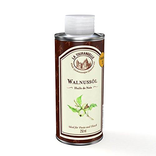 La Tourangelle - Aceite de nueces, 250 ml, lote de 3