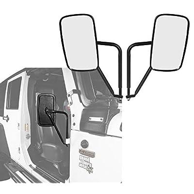 u-Box Jeep Wrangler Door Off Side Rear Mirrors ...
