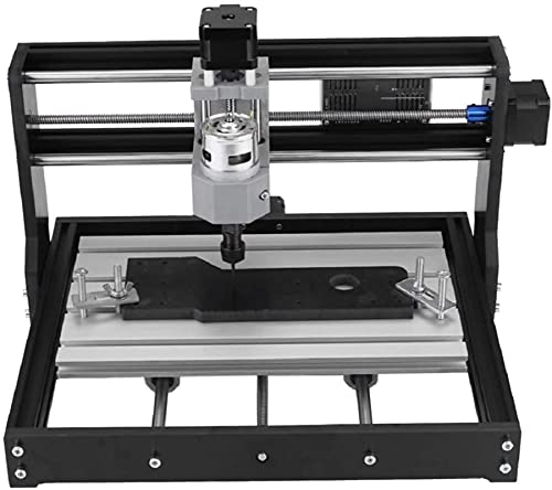 Versión de actualización CNC 3018 PRO Control DIY Mini CNC Router Machine, máquina de enrutador de madera de maquinaria de molienda de 3 ejes con un controlador fuera de línea