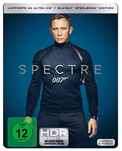 James Bond: SPECTRE ( 4K UHD + Blu-ray ) Limited Edition
