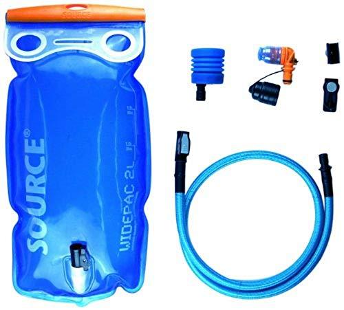 SOURCE Ultimate Hydration System 2 L Transparent-Blue 2017 Rucksack