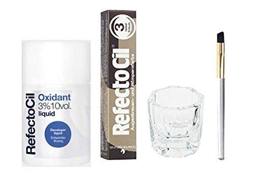Our #2 Pick is the Refectocil Color Kit Beard Dye