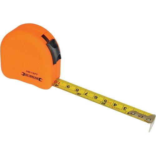 Silverline MT03 - Flexómetro contorneado, tamaño 3 m x 16 mm, surtido: colores aleatorios