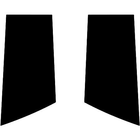 Aluminum Brushed Black Rvinyl Rtrim Pillar Post Decal Trim for Nissan Murano 2009-2014