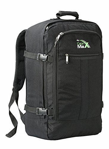 Cabin Max Metz Backpack Flight Approved Carry on Bag 44 Litre Travel Hand...