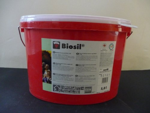 Keim Biosil Farbe - Silikatfarbe/weiß / 5 Liter