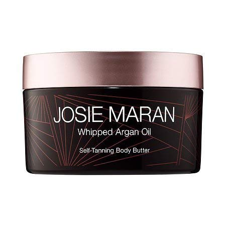 Josie Maran Whipped Argan Oil Self-Tanning Body Butter (Full (7.7oz/217g), Decadent Chocolate)