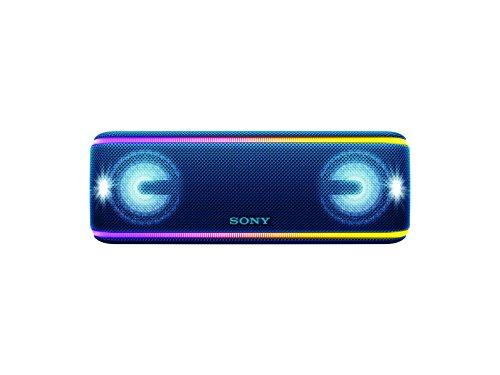 Sony SRS-XB41/LC LA7 Bocina Bluetooth Inalámbrica Portátil con Luces, Color Azul