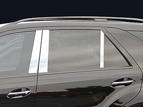 707Motoring Stainless 5 popular Polished Chrome Pillar Post 6PC Comp Trim Limited time sale