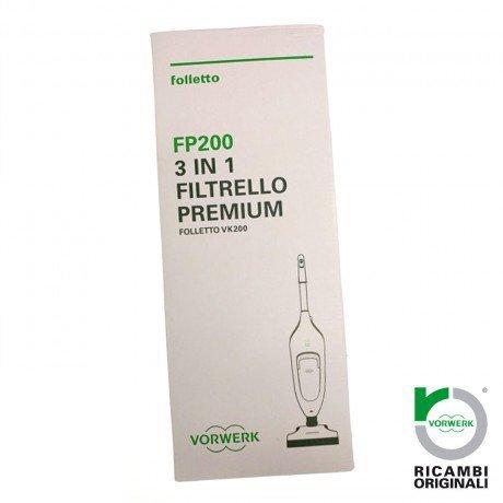 CONF. 6 FILTRELLO PREMIUM SACCHETTI FOLLETTO FP200 VK200