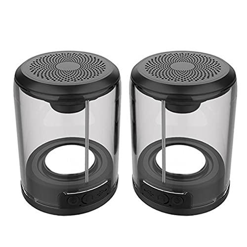 Altavoz Portable, True Wireless Bluetooth Speakers Juego De Dos Salidas De Audio...