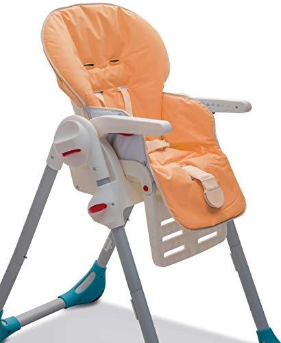 Italbaby Itb_Funda para asiento de PVC Tu naranja