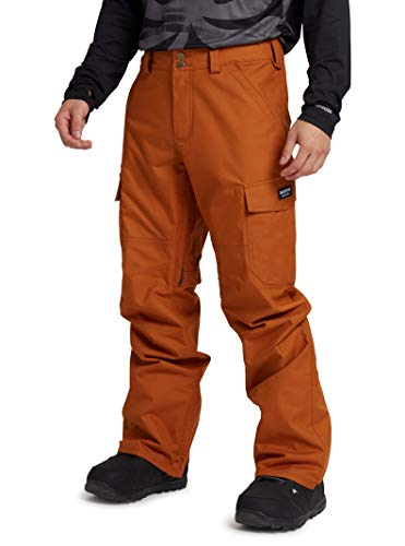 Burton Mens Cargo Pant Regular Fit, True Penny, Medium