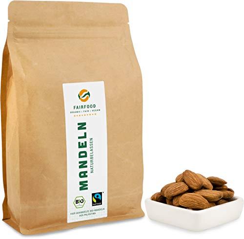 Bio Fairtrade Mandeln: Rohkost und Naturbelassen (500g) | Ur-Sorte
