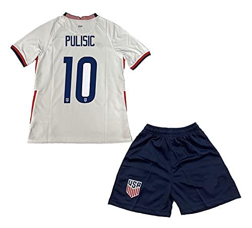 MOKLE Pulisic #10 Home 2020/2021 Season National Team...