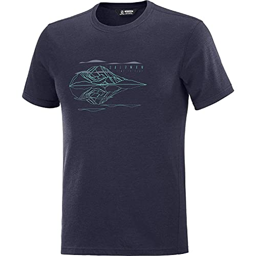 Salomon Explore Blend Camiseta Hombre Trail Running Senderismo